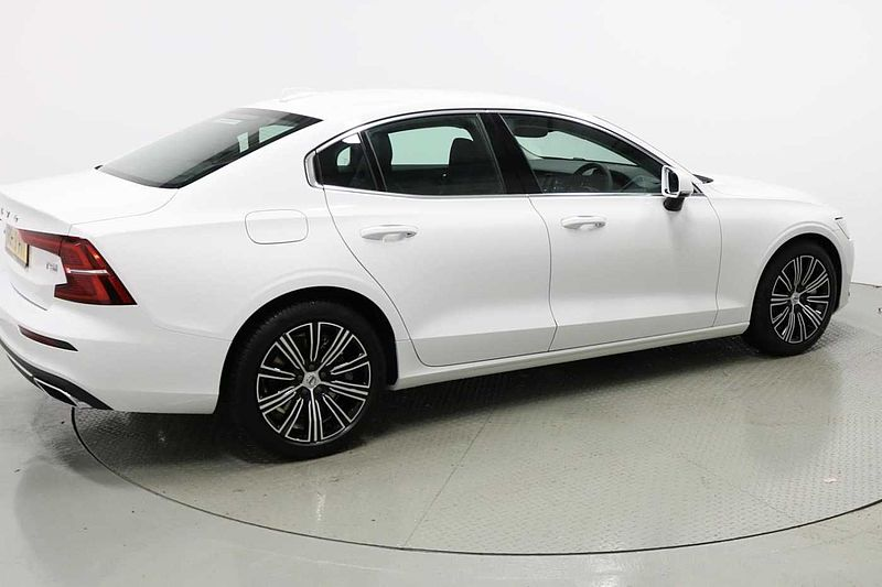 Volvo S60 T5 Inscription Plus Automatic (Heated Steering Wheel, Heated Seats, Heated Windscreen, Park Assist & Leather Upholstery)
