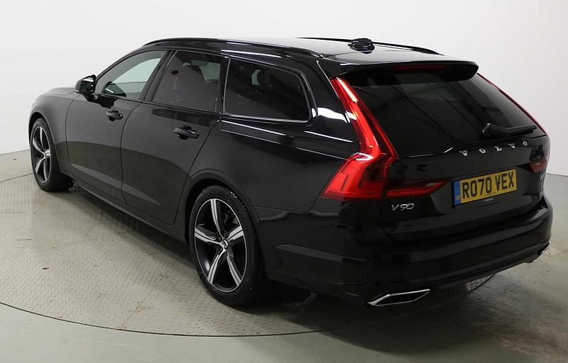Volvo V90 T4 R-Design Plus Automatic (Heated Steering Wheel Tempa Spare Wheel & Heated Washer Nozzles)